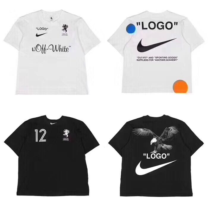 c0096acd Nikelab x Off White Tee, Men's Fashion, Clothes, Tops on Carousell