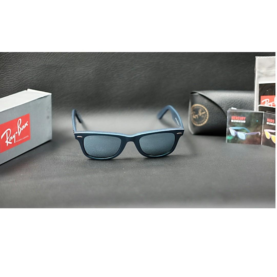 Original kacamata Rayban Wayfarer Cosmo Collection Mercury Silver Flash  lens ce7e5fc424