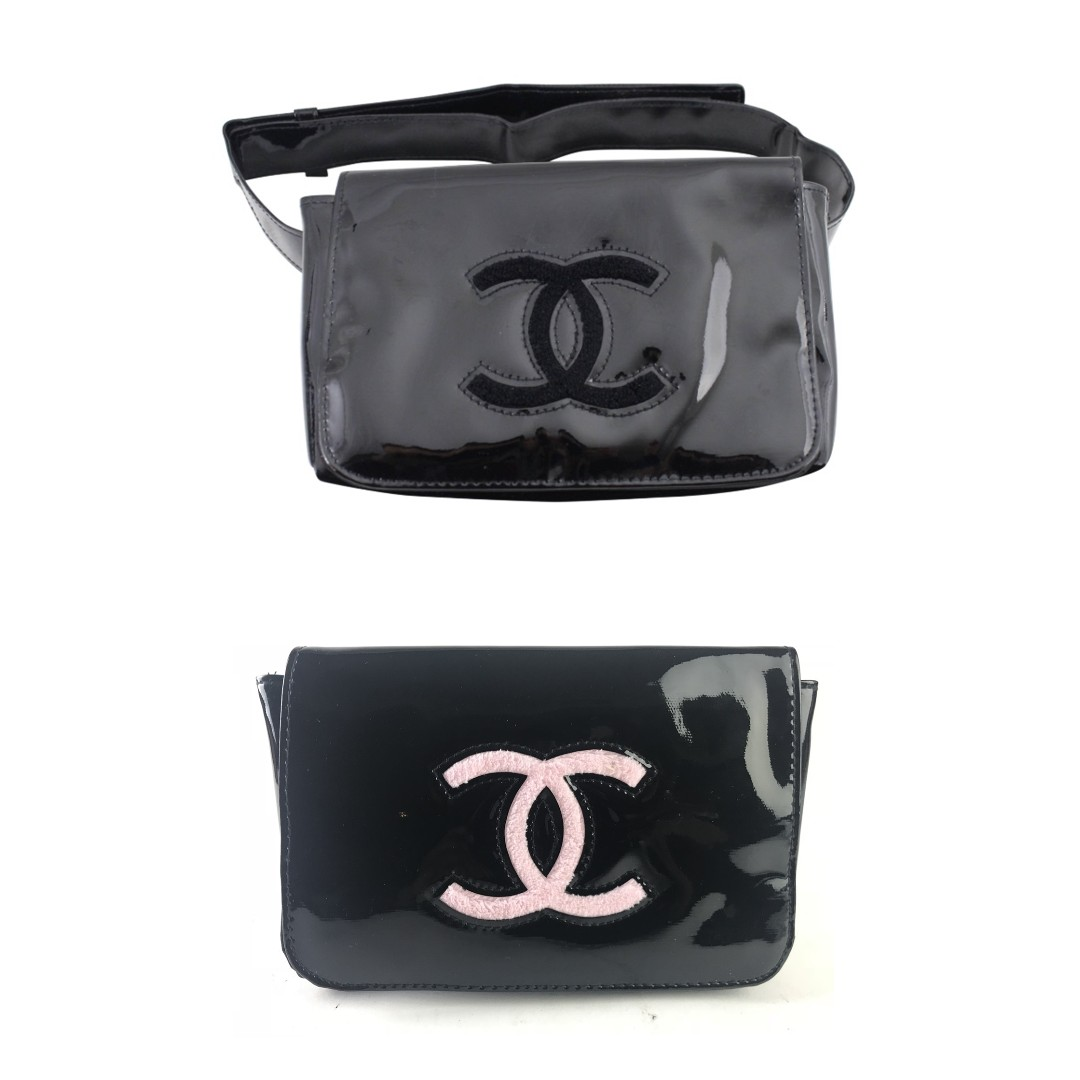 004f95e8a6bc ⚡PO SALE⚡ Chanel VIP Black Patented Belt Bag / Waist Pouch ...
