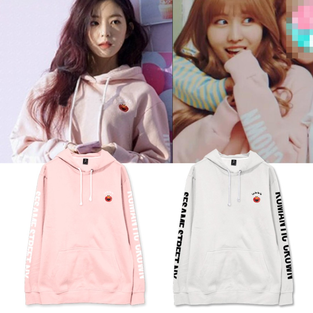 Po Red Velvet Irene Twice Momo The Same Clothes Hooded Spring Winter Coats Women S Fashion Clothes Tops On Carousell