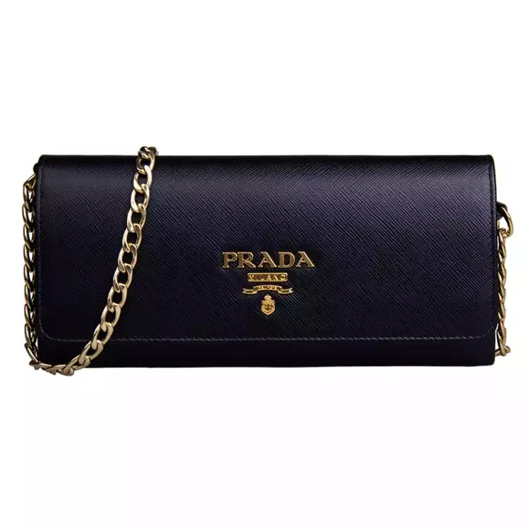 a6eb370315c ... denmark prada black sling bag and wallet. luxury bags wallets sling bags  on carousell 17857