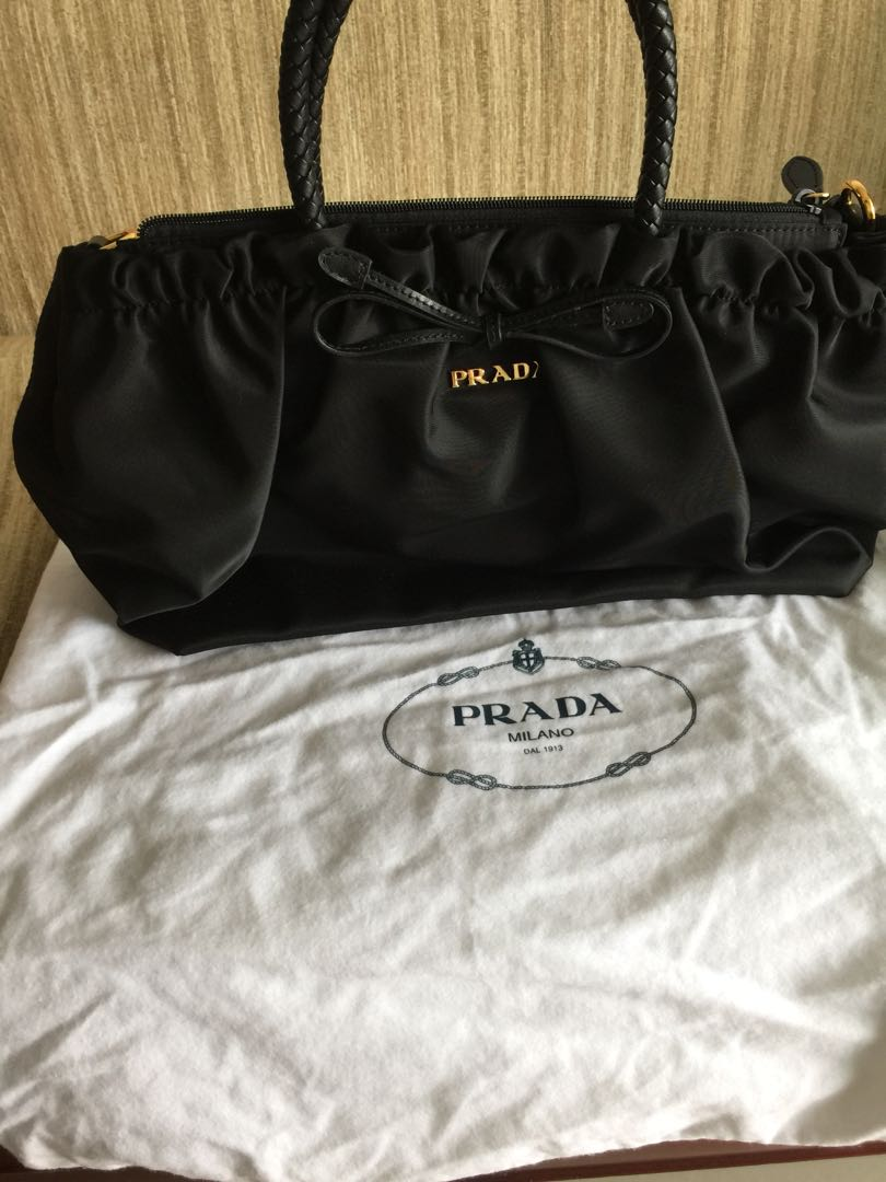 9ce8debb7636 Prada Nylon Shoulder Hand bag