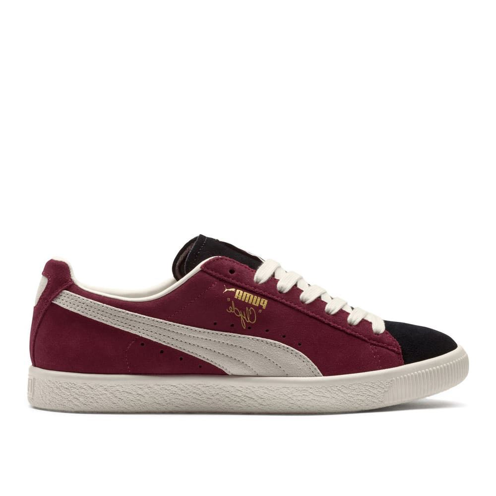 half off ea5b9 6750b Puma Clyde From The Archive (Dark red/Cream)
