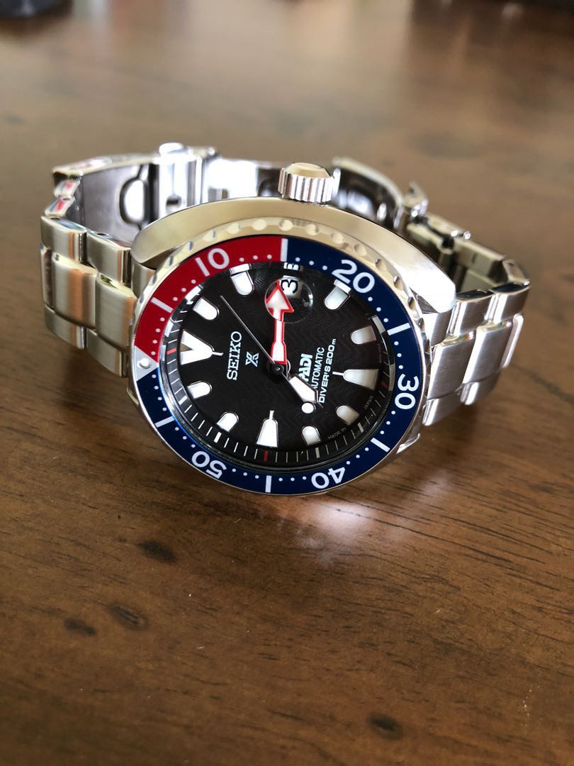 Seiko Baby Turtle Padi Pepsi Edition Luxury Watches On Carousell