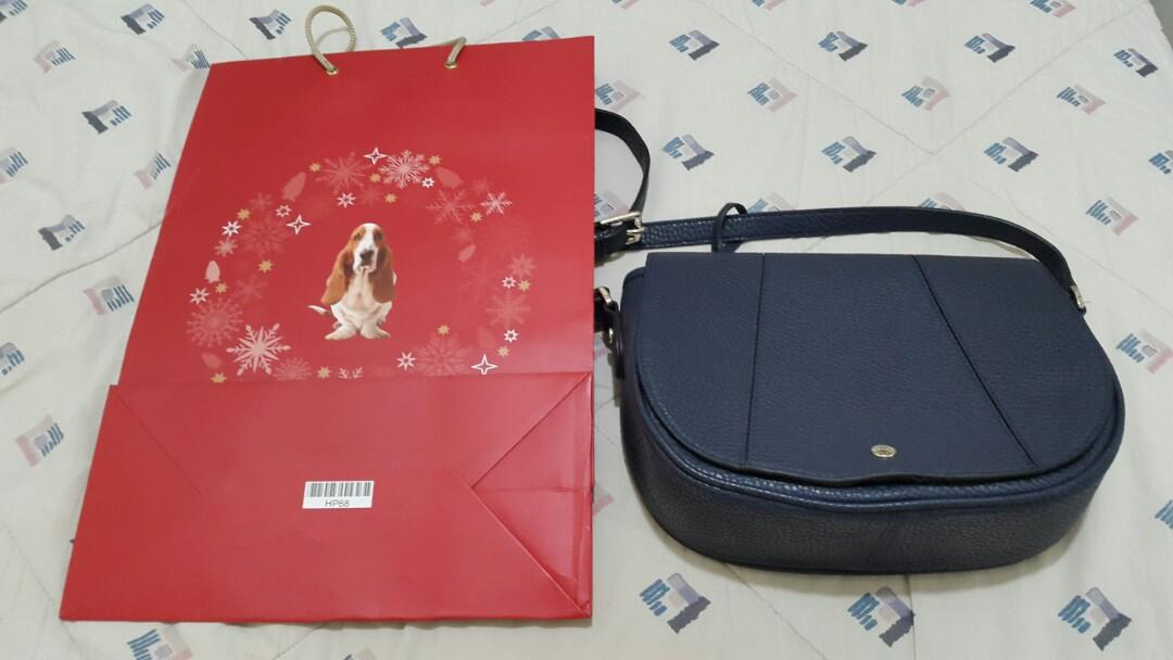 HUSH PUPPIES Sling Bag Authentic 100%