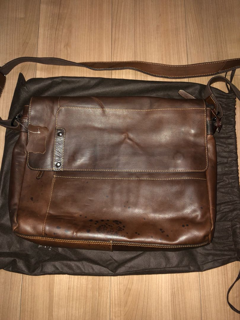 75faab8d3d Sling leather bag from Australia