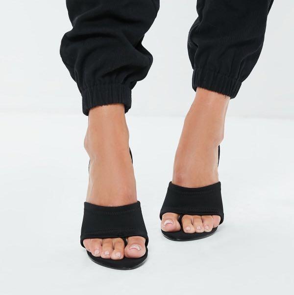 Sporty Sling Back Heels