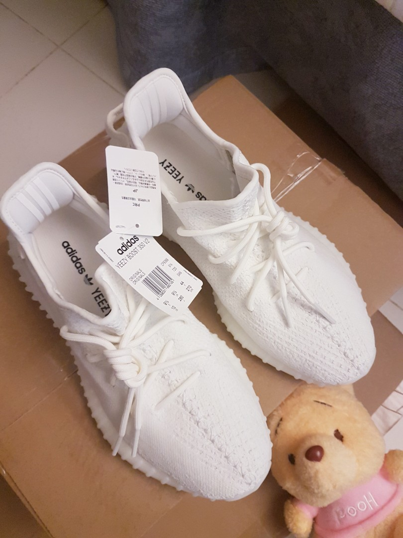 bd7b5c40172ea US10 UK9.5  ADIDAS YEEZY 350 V2 CREAM TRIPLE WHITE DS