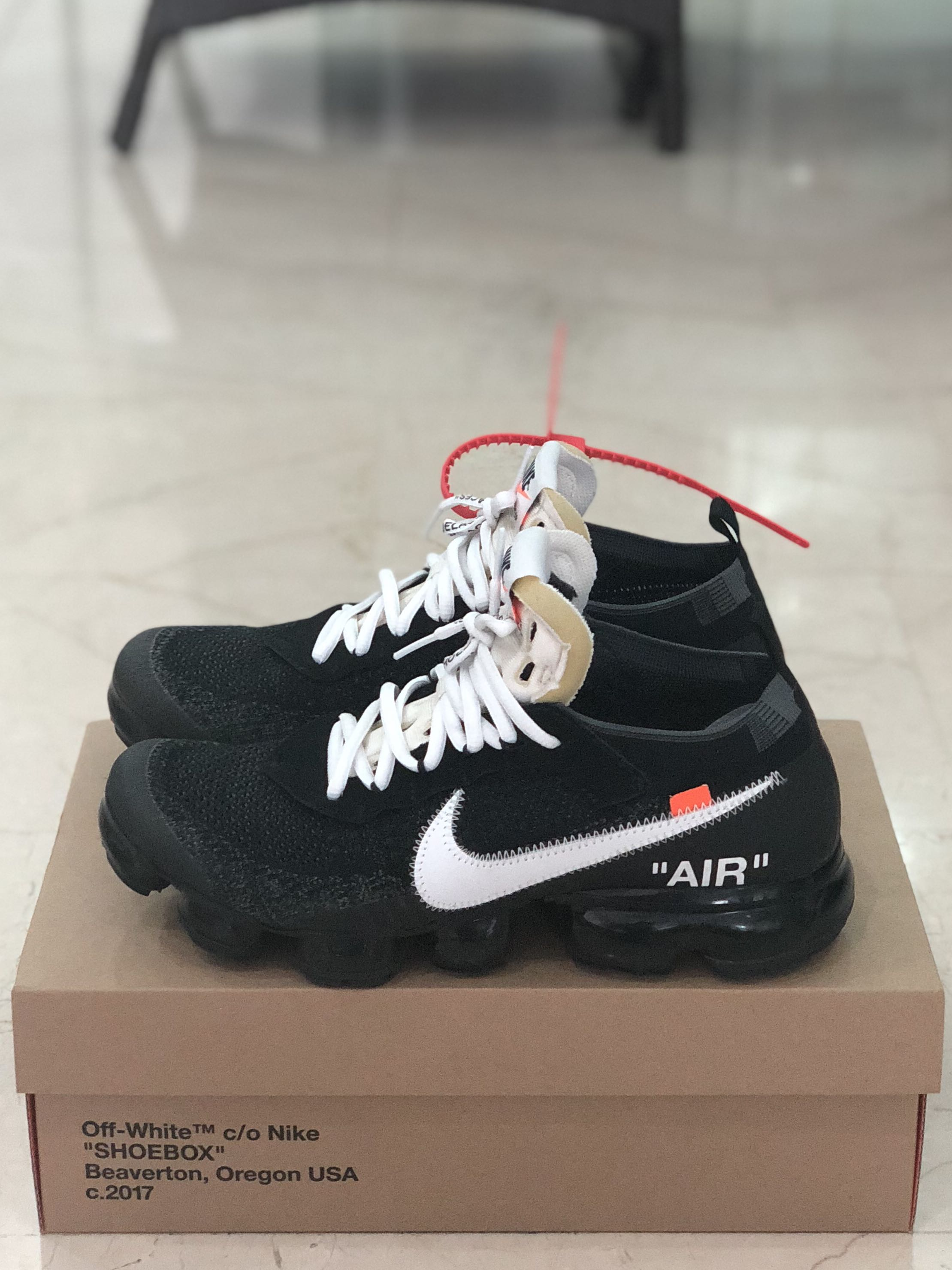 size 40 59d74 fad3f Us 9 Off White Vapormax OG 2017 The Ten