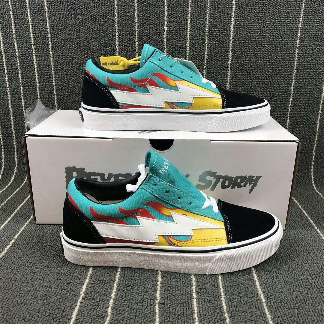 7a71813368f6 Revenge storm teal flame mens fashion footwear sneakers on carousell jpg  1080x1080 Teal storm