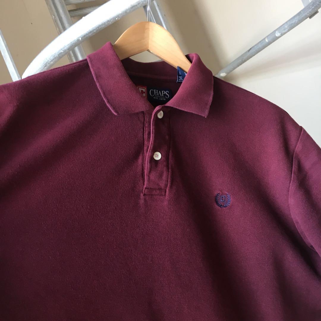 Chaps Ralph Shirt Lauren Vintage Polo yfgY7b6v