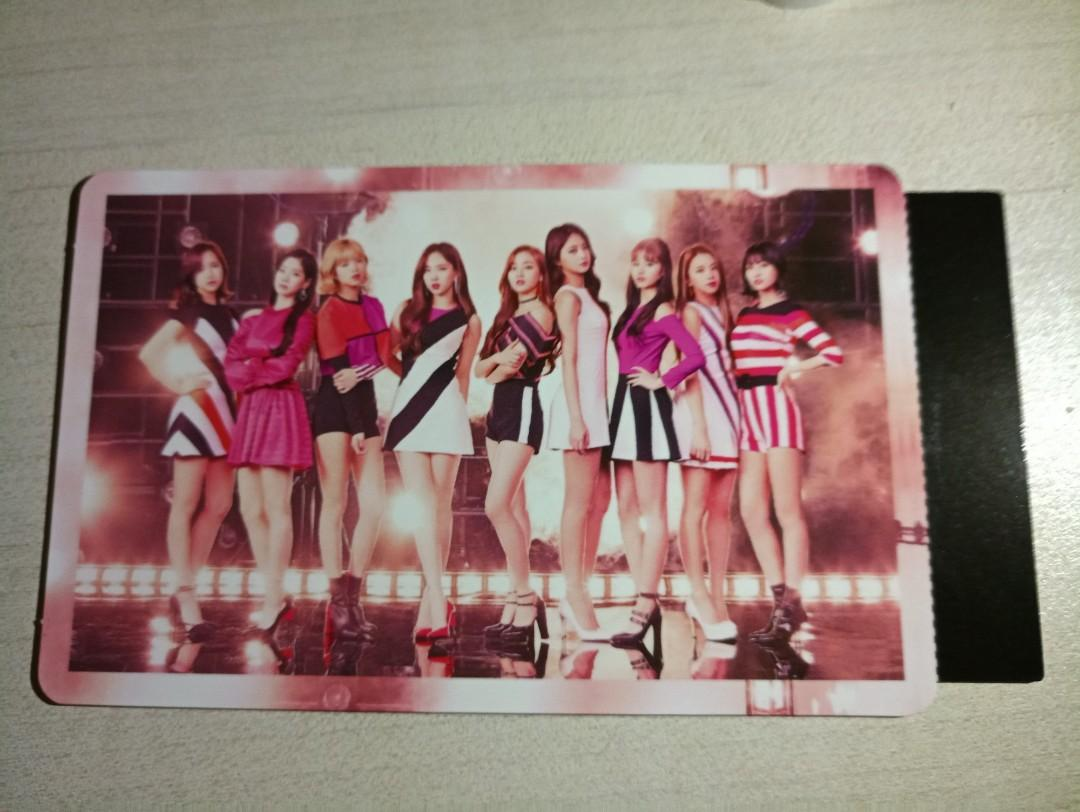 Wts Twice Wake Me Up Japan Album Group Photocard Entertainment