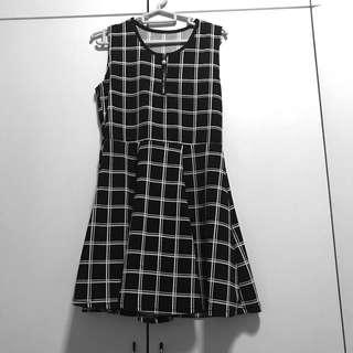 [BN] Grid Dress