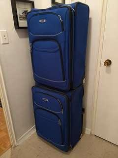 DELSEY BLUE LUGGAGES