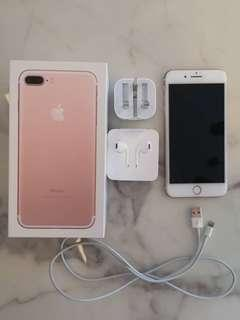 Iphone 7 Plus 128GB Rose Gold for sale