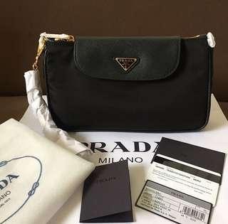 Brand New Prada Chain Bag in Nero