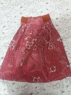 Batik Midi Skirts