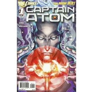 CAPTAIN ATOM #1 (2011) DC New 52  First issue!