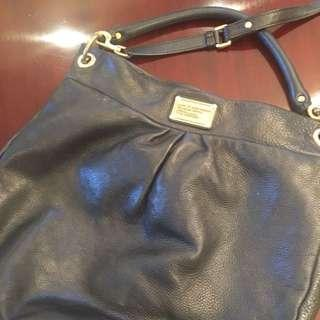 Authentic Marc By Marc Jacobs Classic Q Hillier Leather Hobo