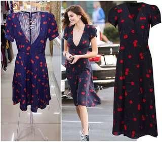 [NEW] CHERRY PRINT DRESS
