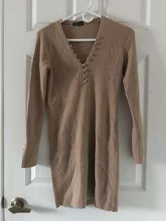 Club Monaco Knit dress XS