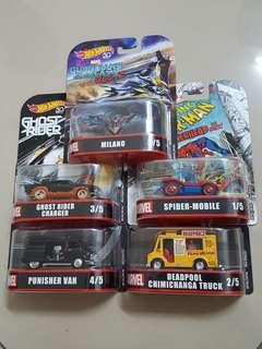 Hotwheels Marvel Edition - Limited Edition
