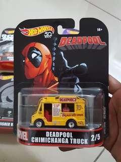 Hotwheels Marvel DEADPOOL