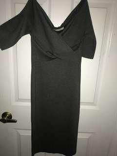 Zara offshoulder dress