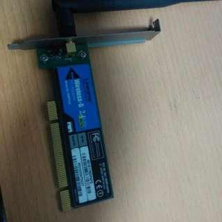 Linksys Wireless G 2.4 ghz Adapter
