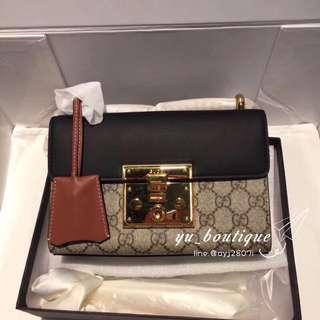 Gucci padlock 包