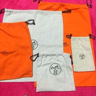 Authentic Hermès Dust Bags (Take All)