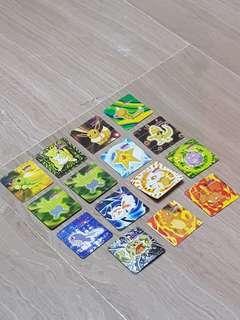 Vintage Pokemon Mini Foldable Cards (Twisties)