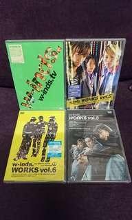 全新日本版 W-inds DVD,4隻只需$100,不散賣