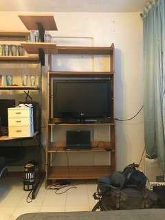 Used wooden shelf