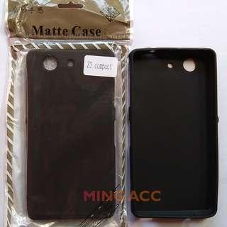 Soft Case Slim Black Matte Sony Xperia Z3 Mini Z3 Compact