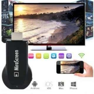 Dongle Miracast WIFI 1080P HDMI Chromecast 【READY STOCK】