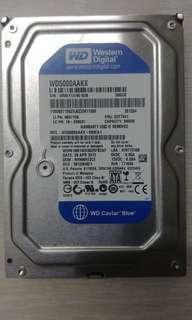 WESTERN DIGITAL HARD DISK 500GB BLUE