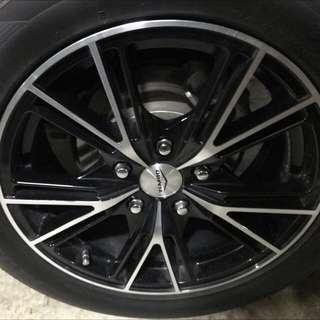 Dekit 16 inch Hankook Tyre and Rims