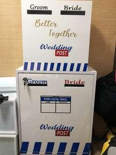 Customised wedding box