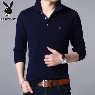 🚚 play boy polo long sleeve