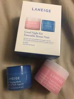 Laneige- Good Night Kit