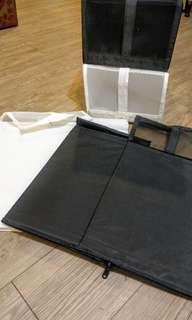 🚚 IKEA收納鞋盒 四個 (2黑2白)