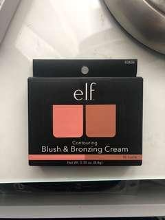 Brand New ELF blush and bronzing cream duo