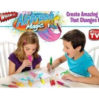 Magic Airbrush★Magic Marker Pens★Artist★ Air Brush★Kids Art and Craft★Artpiece★Best Gift for kids