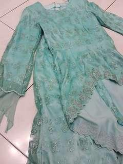 Baju Kurung Moden Kahwin Lace