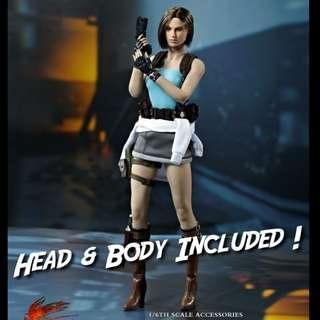 1/6 Jill Valentine from Resident Evil FD005 [Hot Heart / Phicen / TBLeague / Not Hottoys]