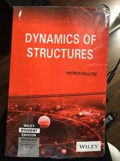 Dynamics of Structures (NEW)-Patrick Paultre