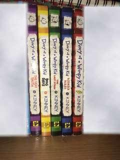 Diary of a whimpy kid series