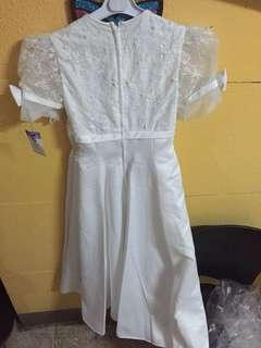 Elegant White Dress/Gown