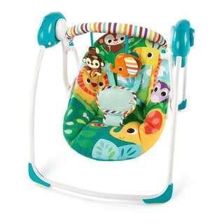 Bright Start Portable Swing Safari